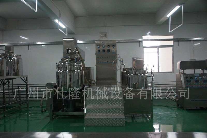 化妆品管线式乳化机机组