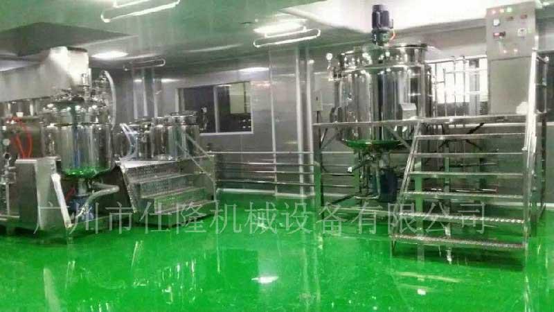 乳剂真空均质乳化机厂家定制