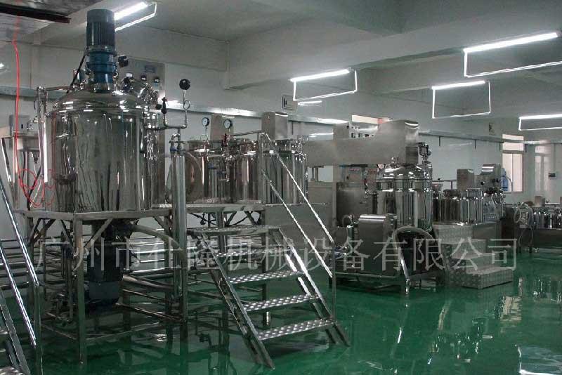 豆浆乳化罐机组