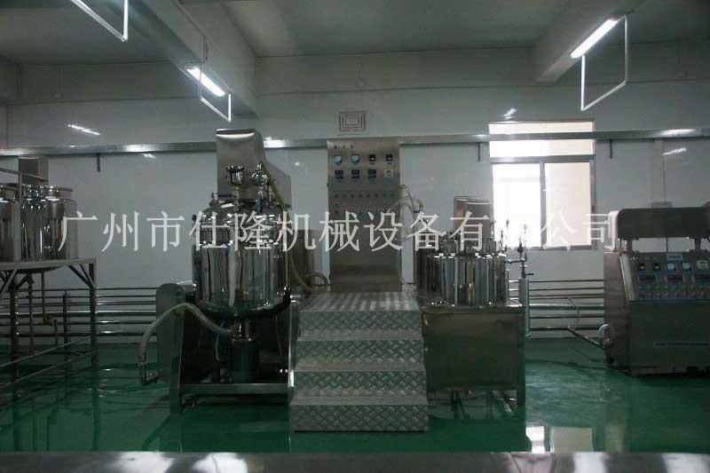 全自动管线式乳化机机组