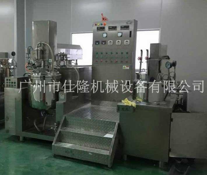 洁面霜管线式乳化机设备